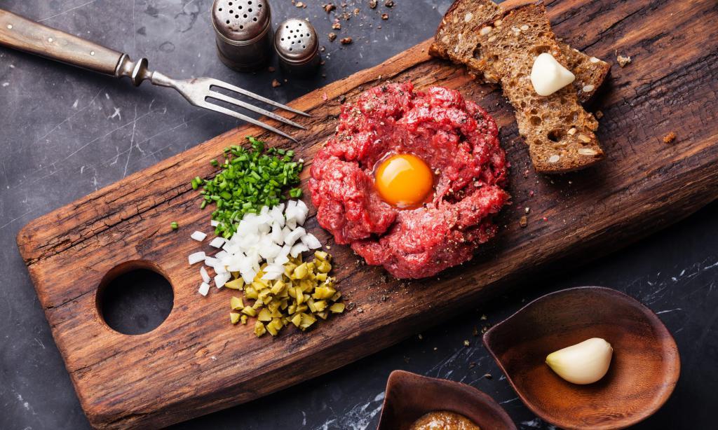 Тартар – презентация блюда