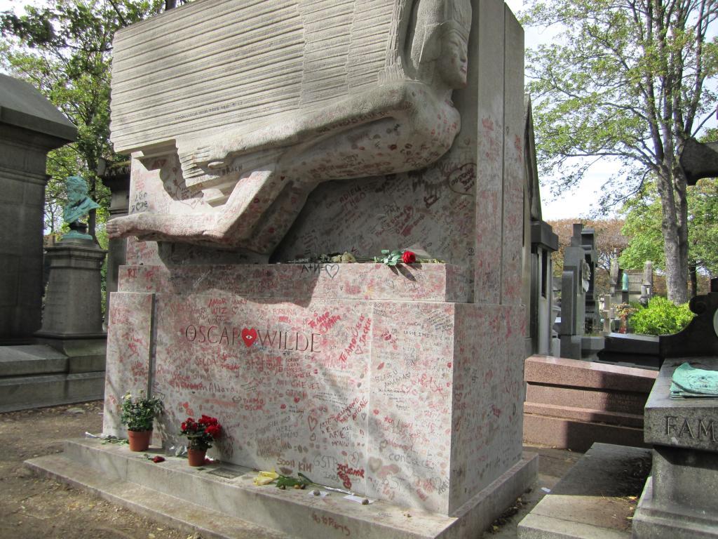 могила оскара уайльда