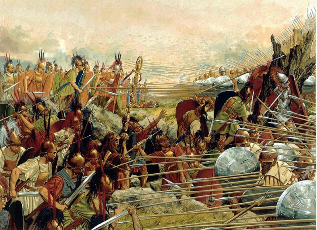 Македония против Рима