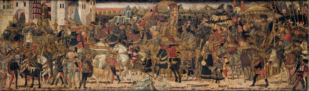 Битва между римлянами и македонцами
