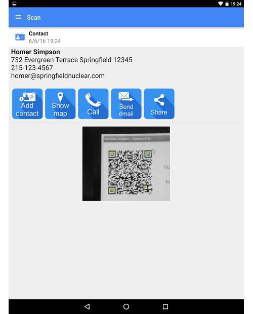 Как сканировать QR-код телефоном