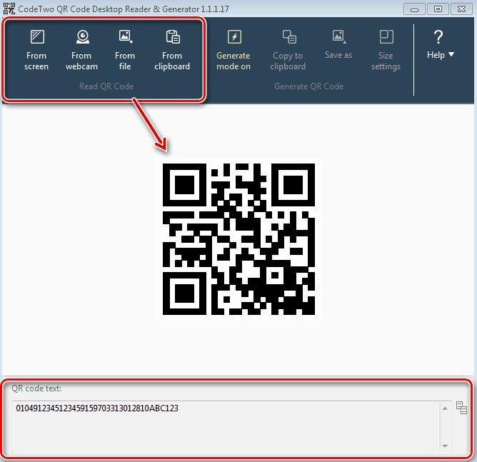 QR-код как сканировать