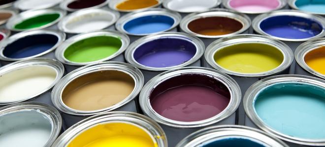 Алкидные краски разных цветов
