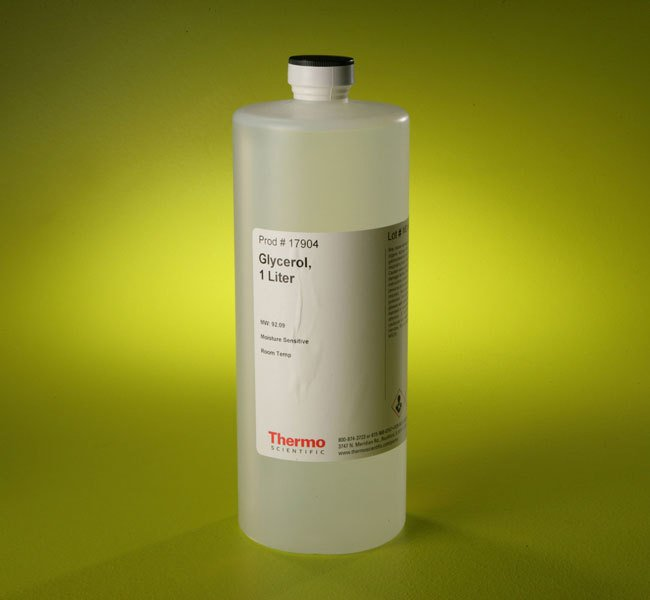 Глицерин как средство для чернения