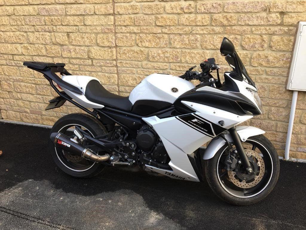 Белый рестайлинговый Yamaha XJ6