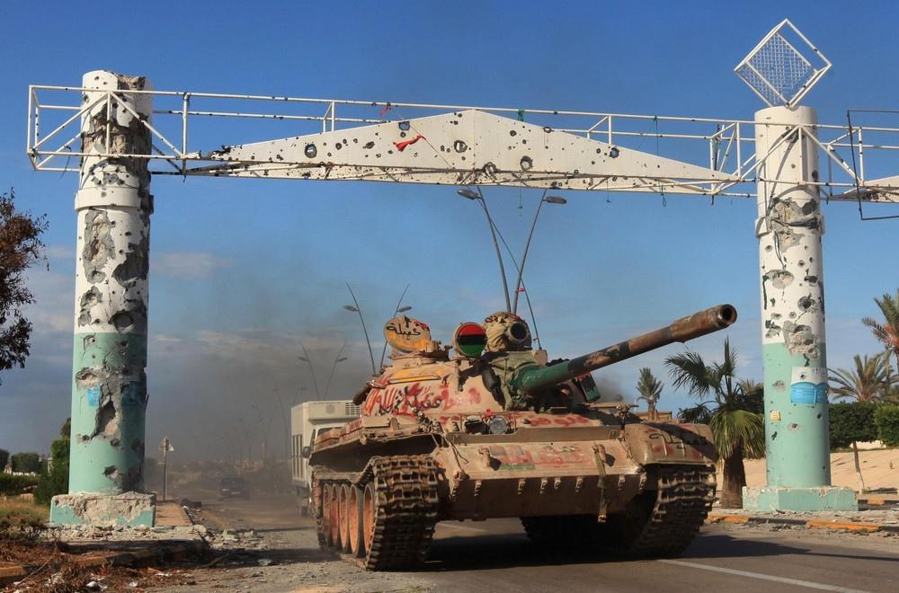 Вторая гражданская война в Ливии