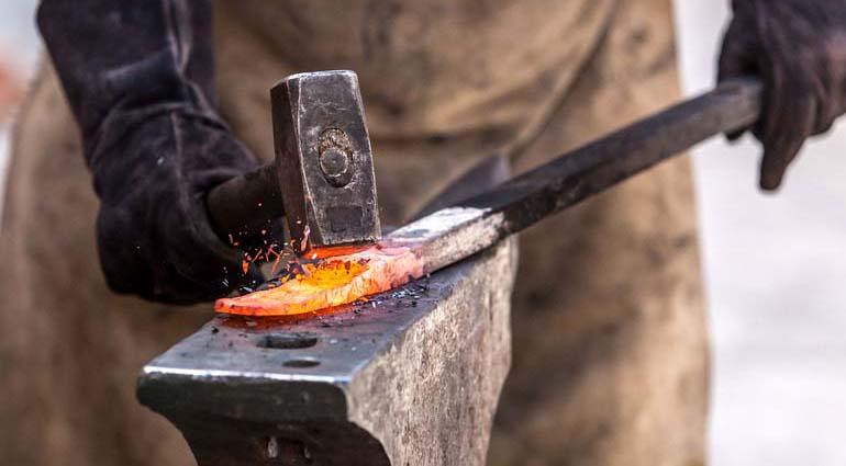 Ковка стали в горячем состоянии