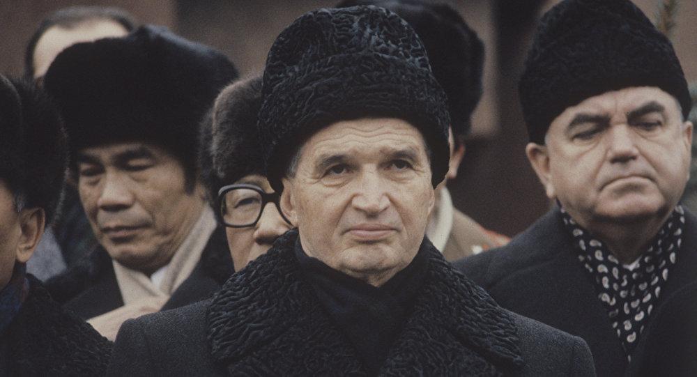 лидер социалистической Румынии