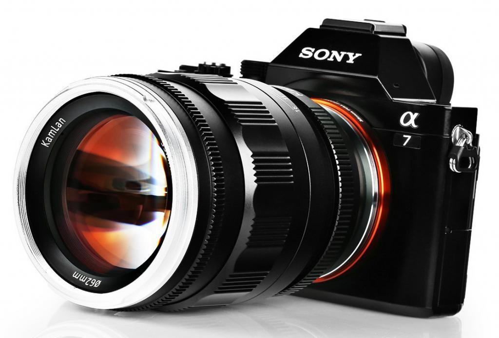 Мануальный объектив для Sony