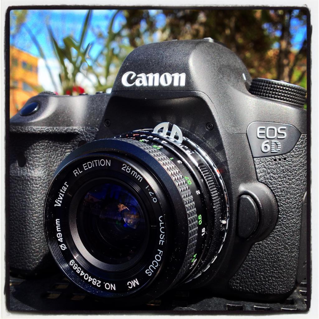 Мануальный объектив для Canon