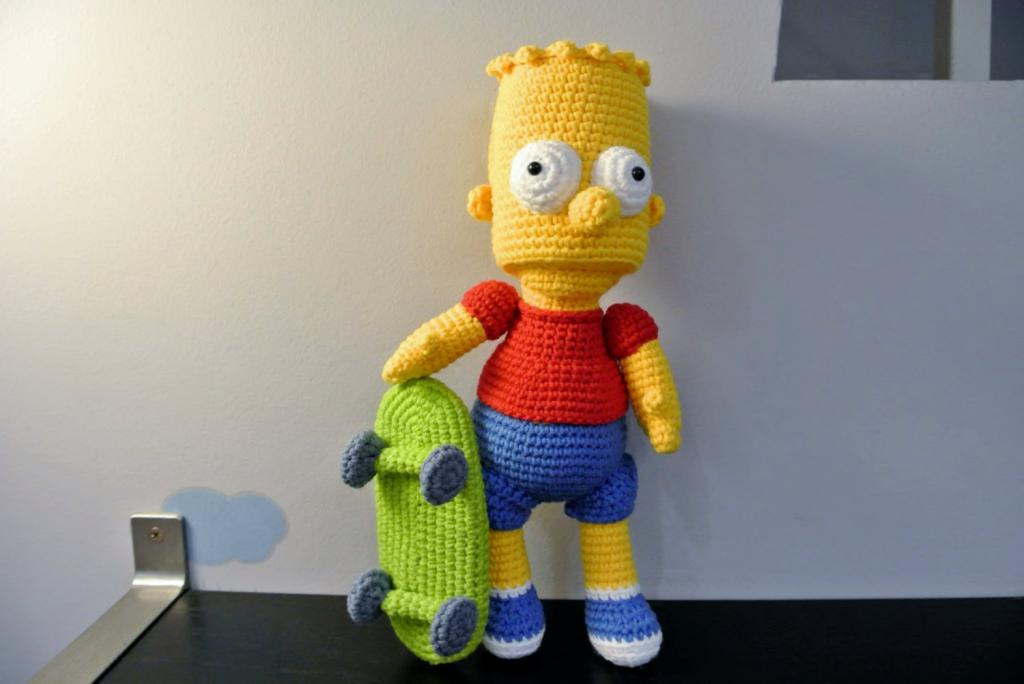 Симпсон и его скейтборд