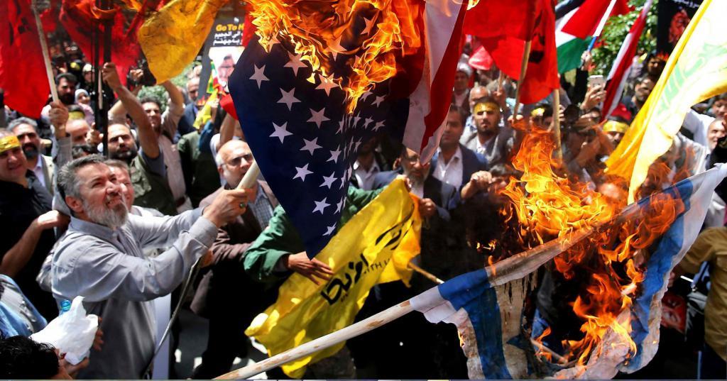 Сжигание флага