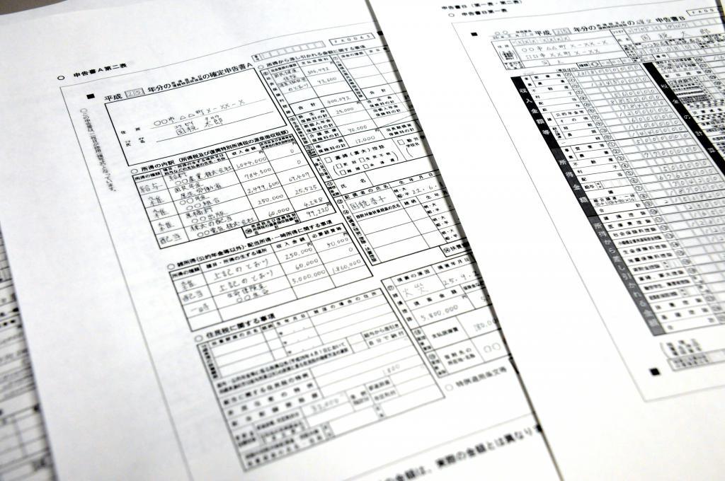 система налогов в японии