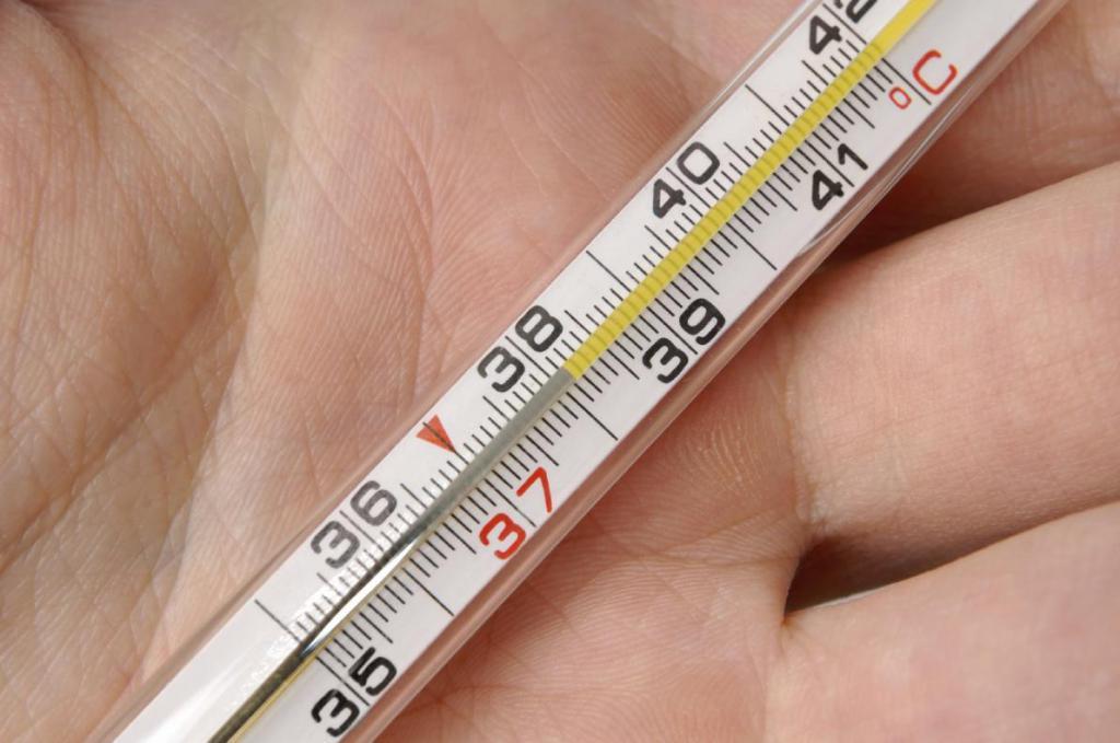 Повышение температуры