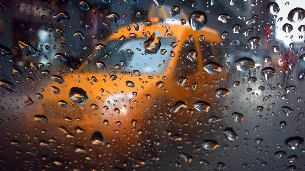 Востребованность такси в условиях непогоды