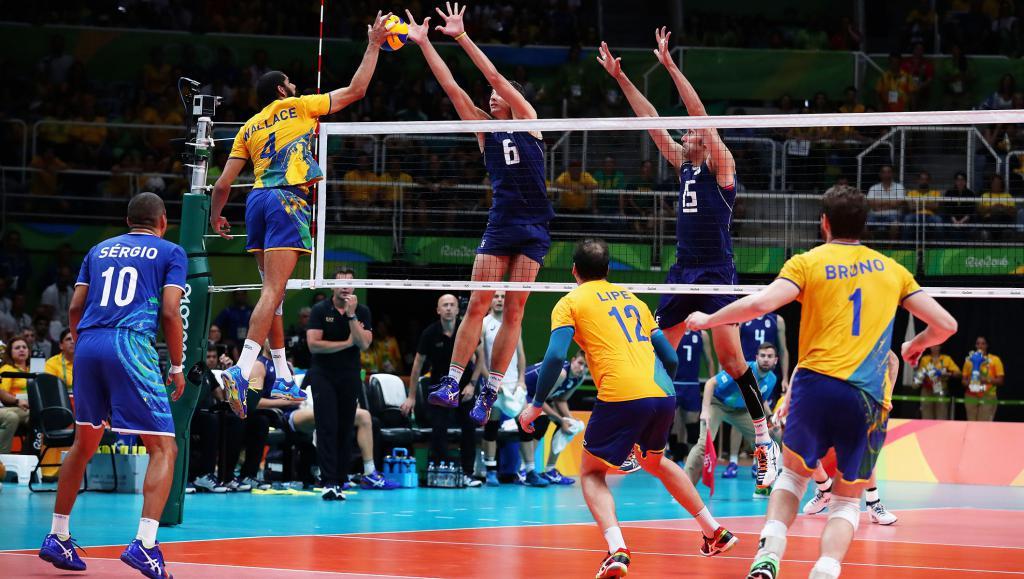 Олимпийские Игры: Волейбол