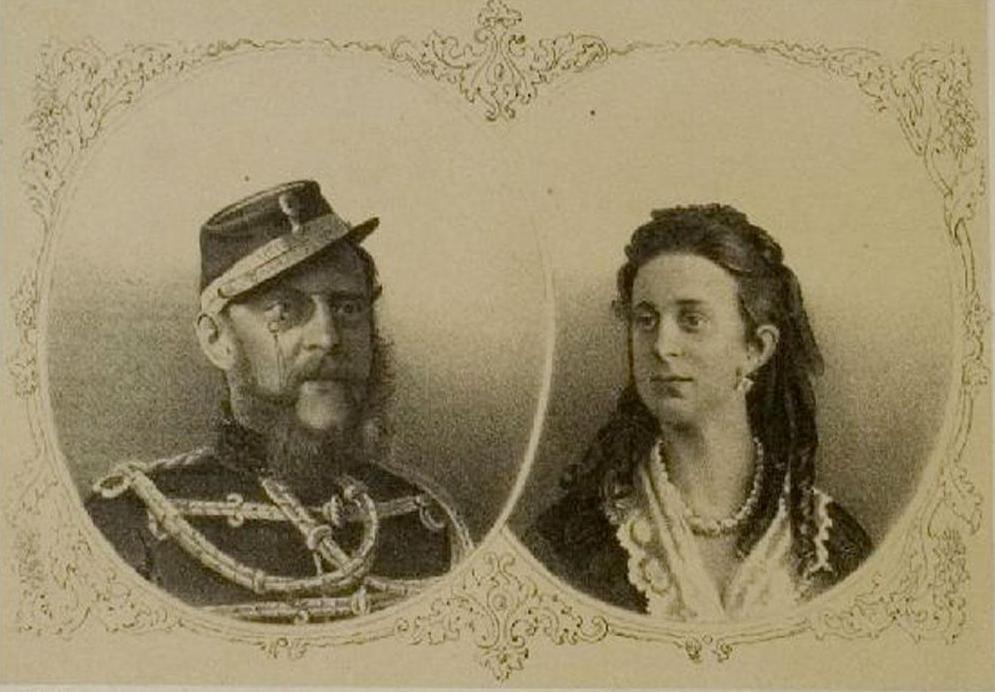 Константин Николаевич и Александра Иосифовна