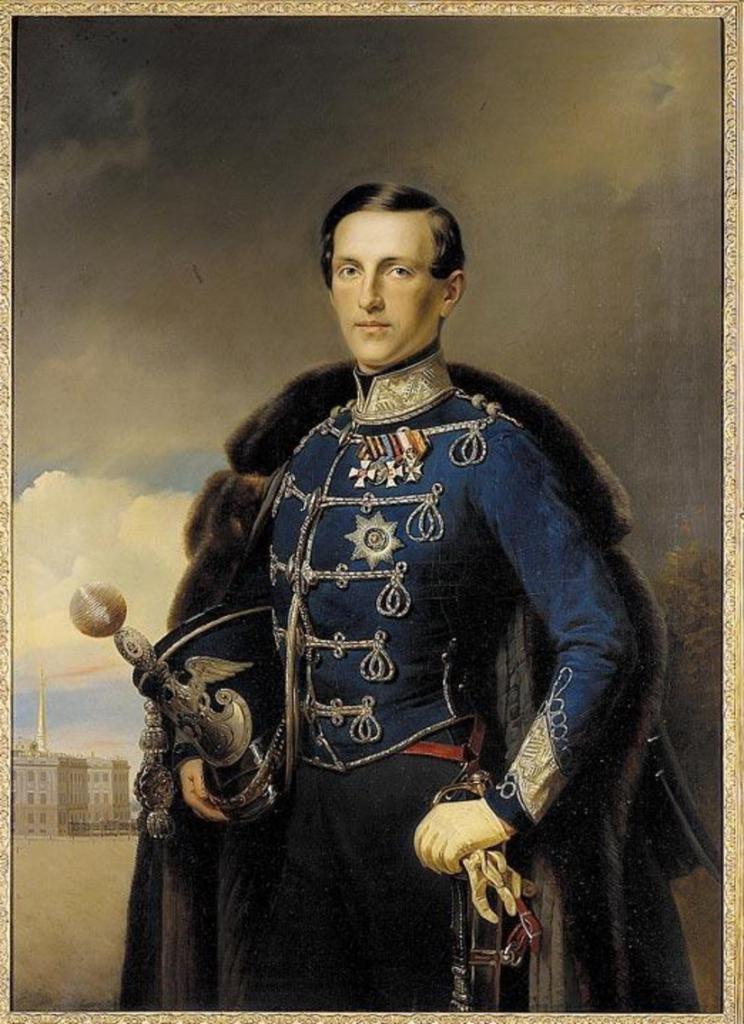 Константин Николаевич в молодости