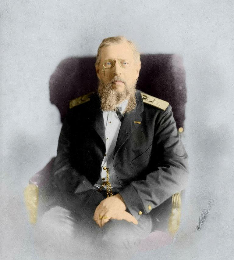 Константин Николаевич в старости