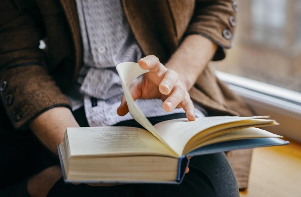 Читающий человек