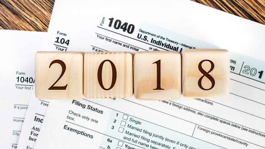 Типы налогов в 2018 году
