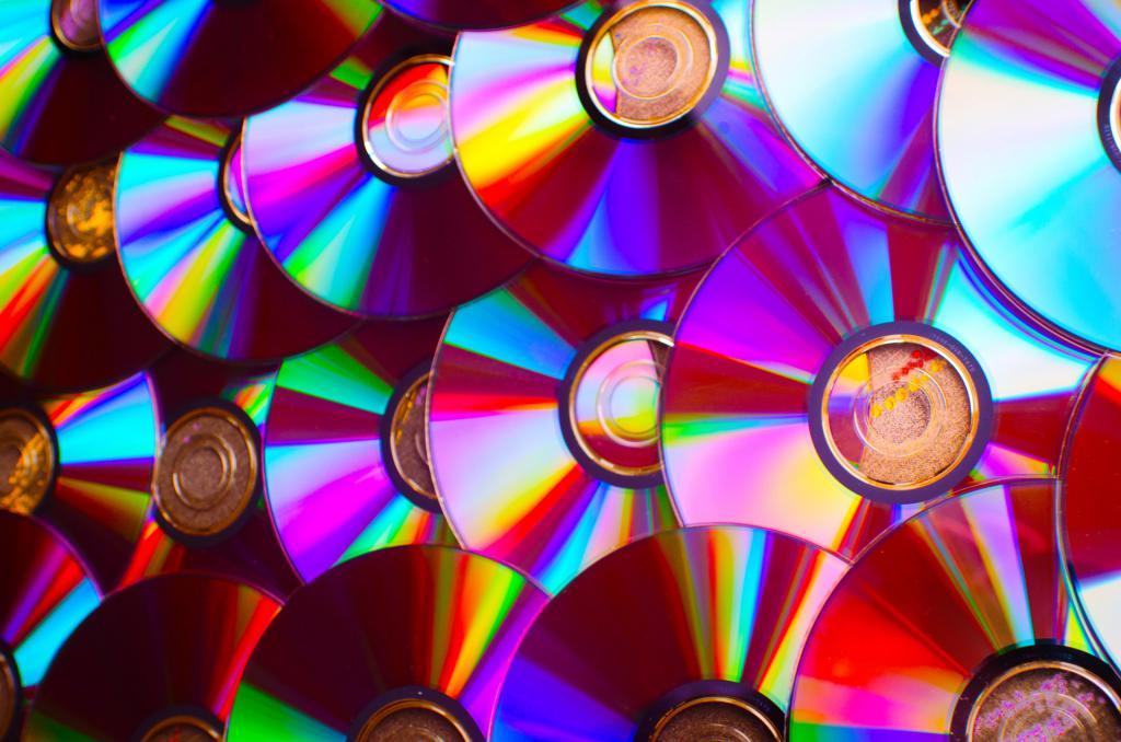 хранение компакт дисков