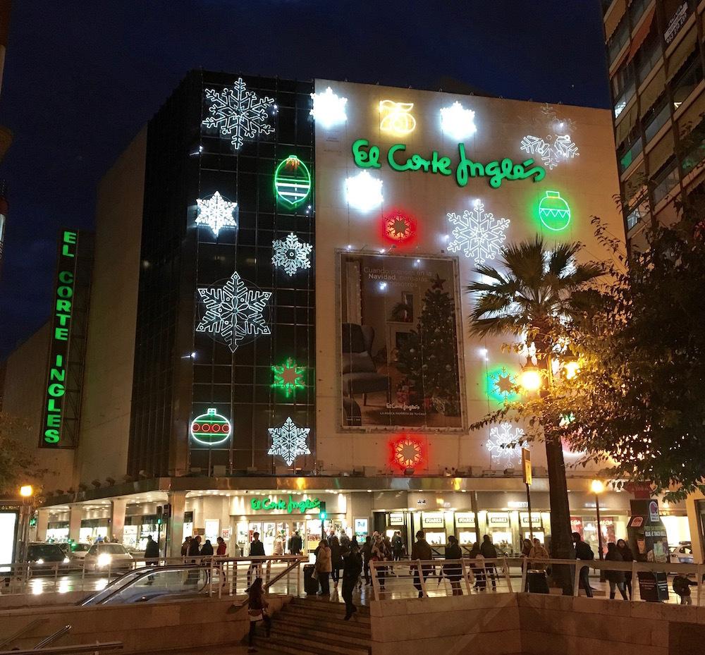 Самый женский торговый центр El Contre Ingles