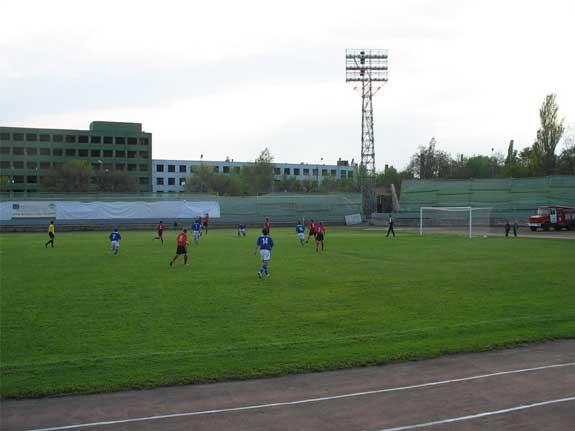 Матч на стадионе Торпедо (Таганрог)