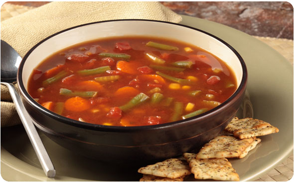 Солянка без мяса с томатом