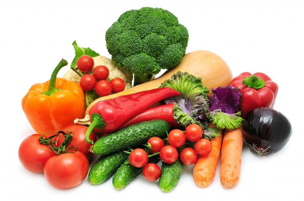 Основные овощи для супа