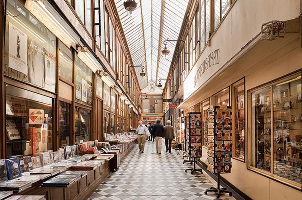 Торговые улочки Парижа