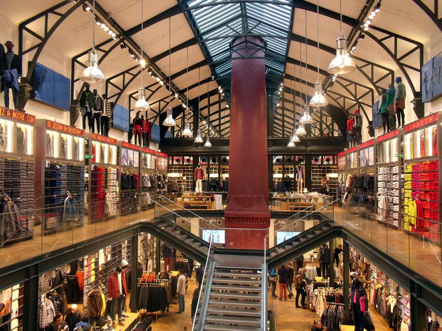 Магазины высокой моды в Париже