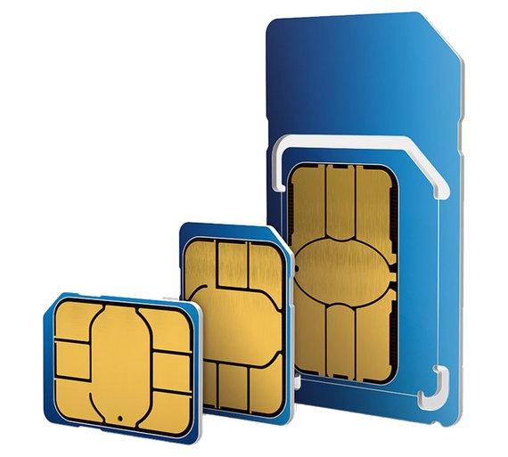 O2 Triple SIM Card