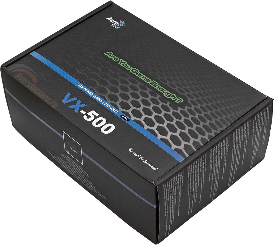 блок питания aerocool vx 500 500вт