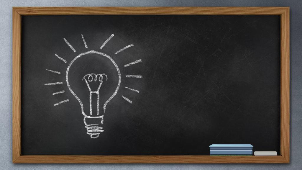 """На школьной доске рождаются """"гениальные"""" идеи"""