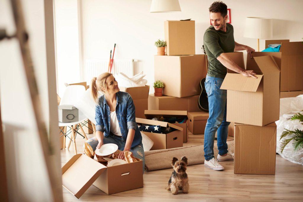 переезд в квартиру