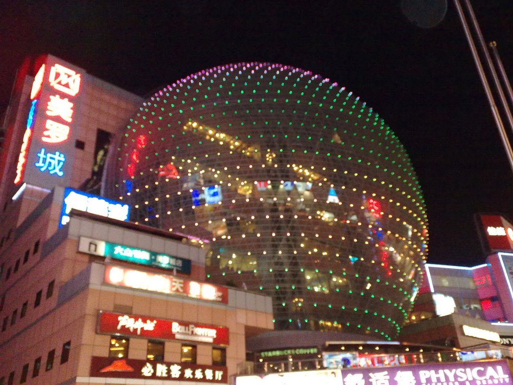 огромные торговые центры Шанхая