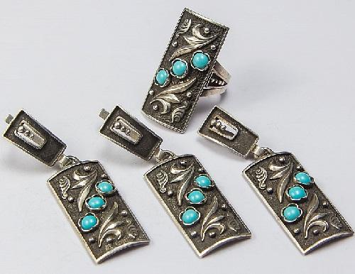 украшения из серебра