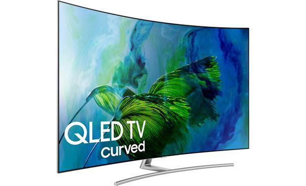 Изогнутый телевизор Samsung