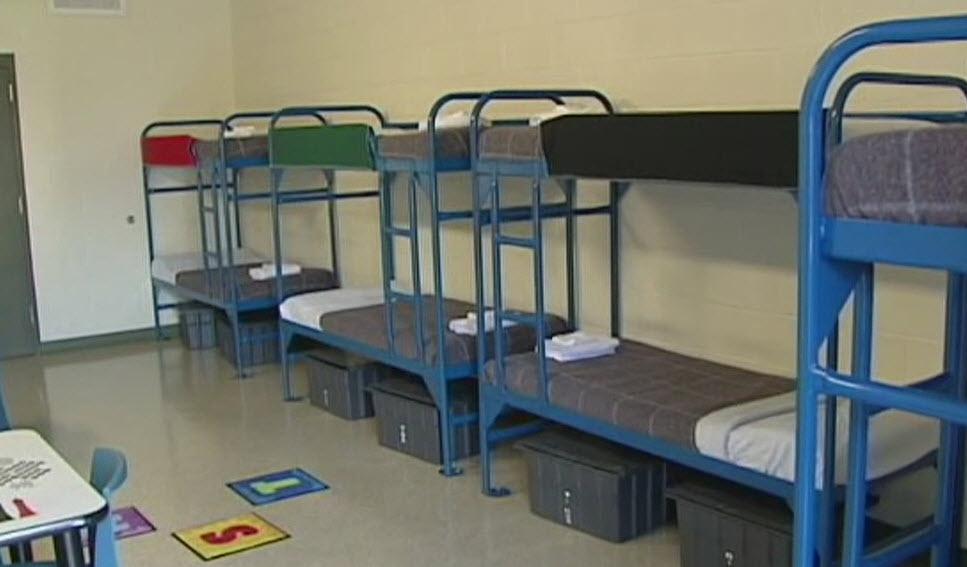 спальные места в изоляторе временного содержания