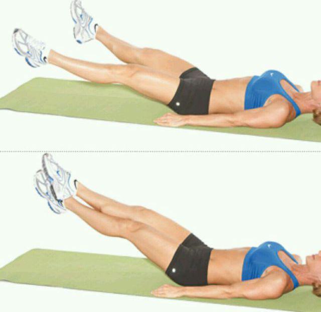 Упражнения для похудения низа живота и боков в домашних условиях для женщин