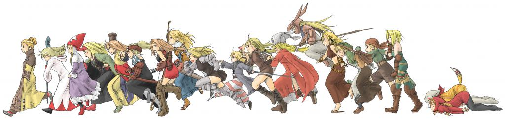 Арт по Final Fantasy