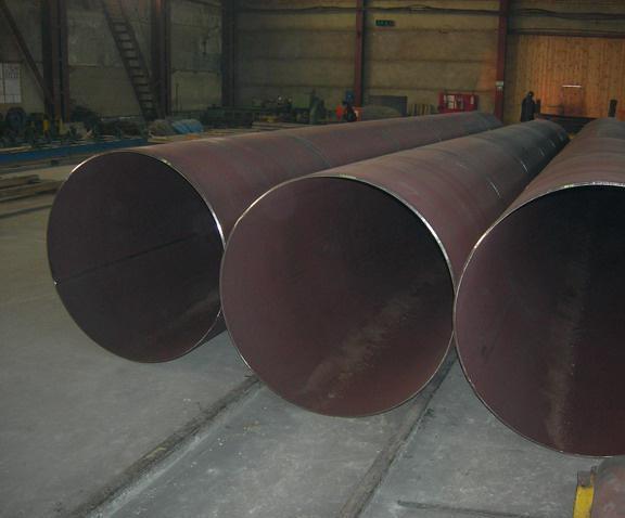 Трубы из стали с большим диаметром