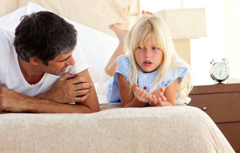 как объяснить ребенку что папа с нами не живет