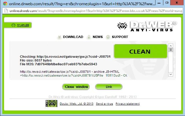 Онлайн проверка ссылки