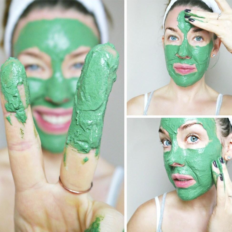 спирулина маски для лица