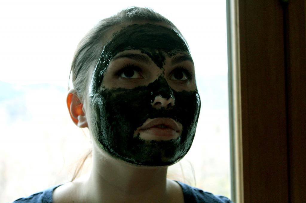 маска на основе спирулины
