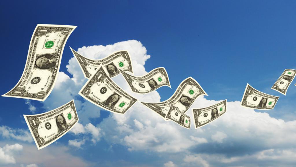 Заговор на ветер на деньги