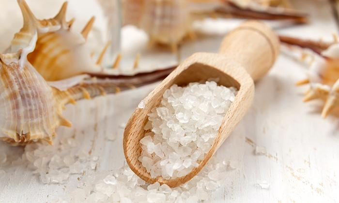 пилинг солью для лица
