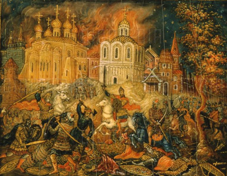 Защита города Владимира в 1238 году
